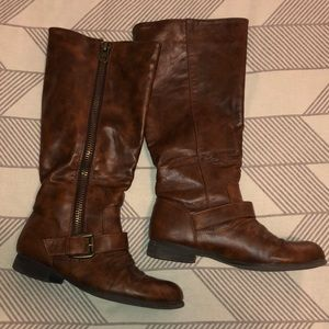 Shoes - Tall Riding Boots
